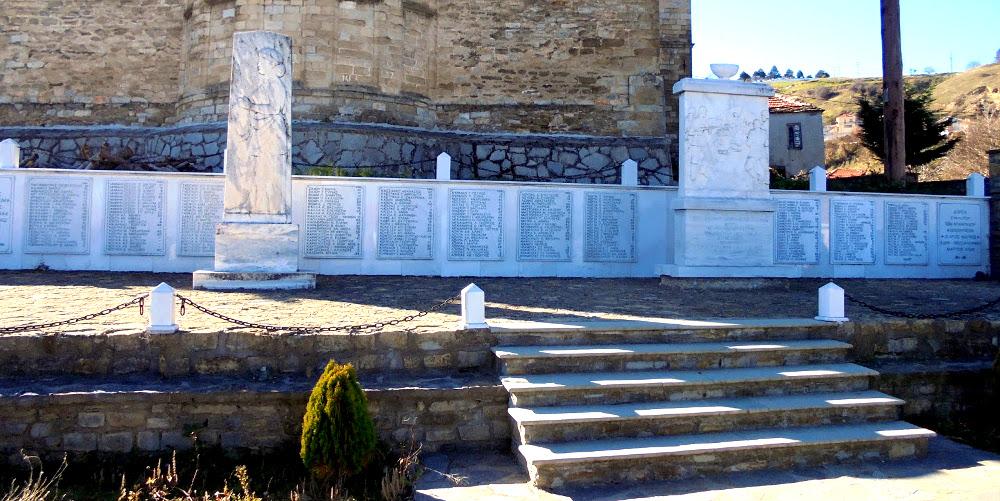 Το Μνημείο του Ολοκαυτώματος στην Κλεισούρα Καστοριάς